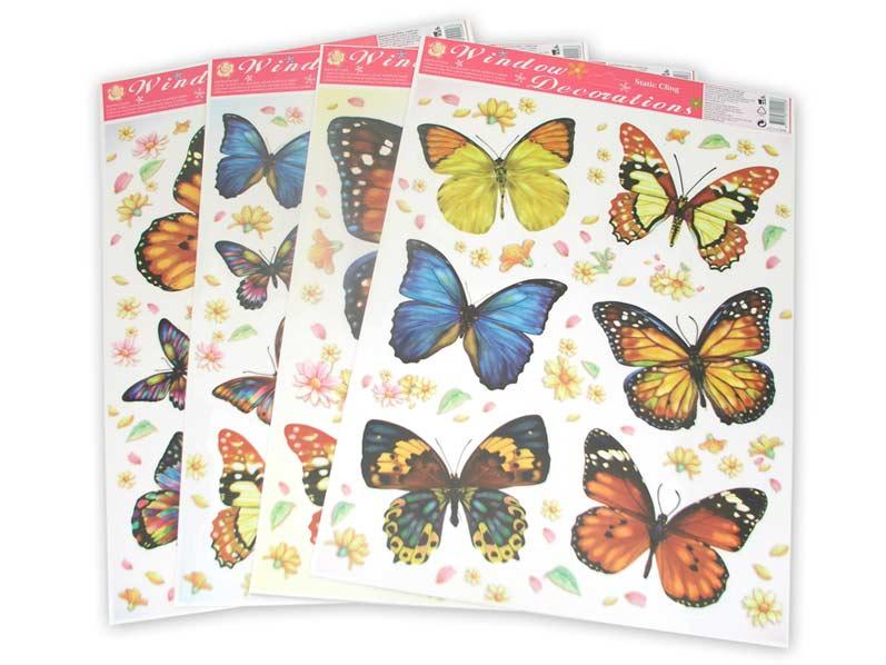 Okenní fólie 42x30 Motýli 364B