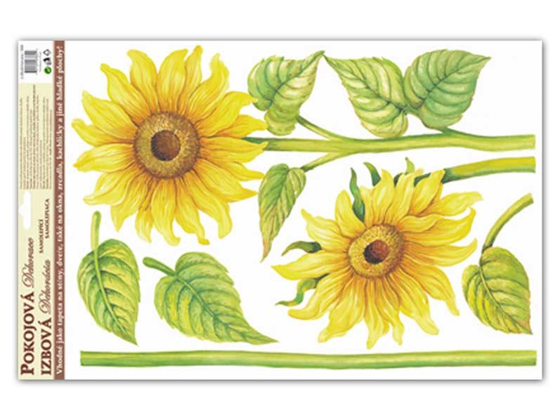 Samolepící dekorace 541 59x35 slunečnice