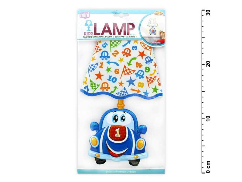 Wiky samolepící dekorace 887909 svítící LED lampička auto