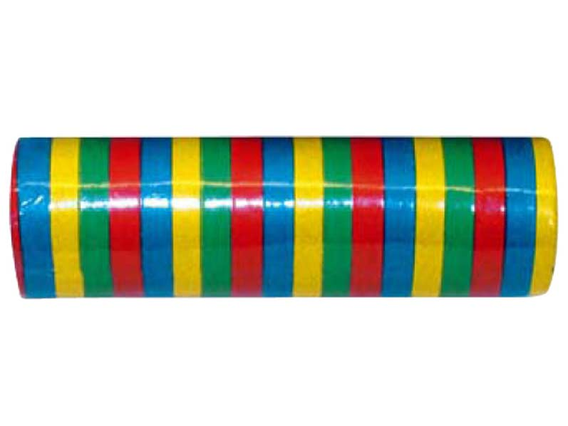 Serpentýny 7mmx4m 9010