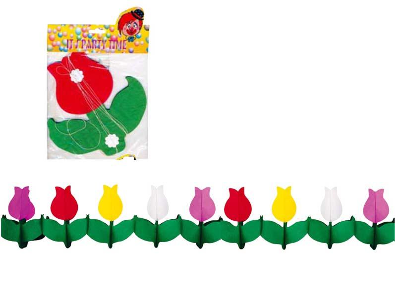 Girlanda 9022 tulipány 400x21x21