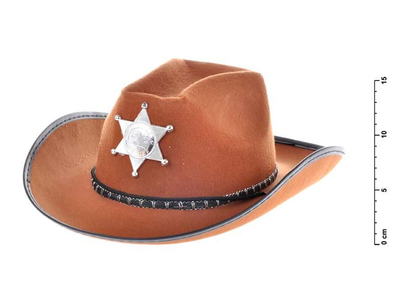 Klobouk šerif 880313  2137f665ef