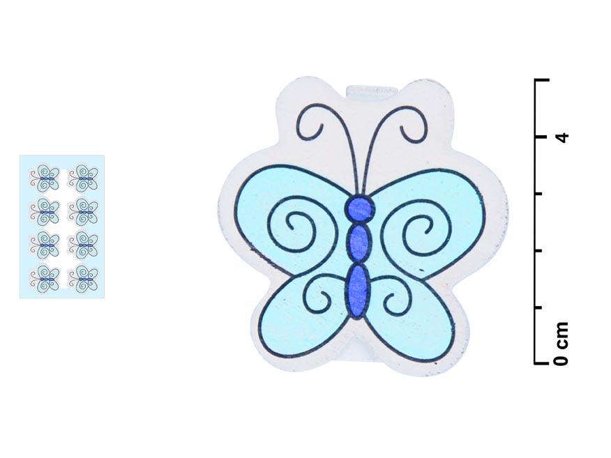 Kolíčky W816263 motýl 8ks