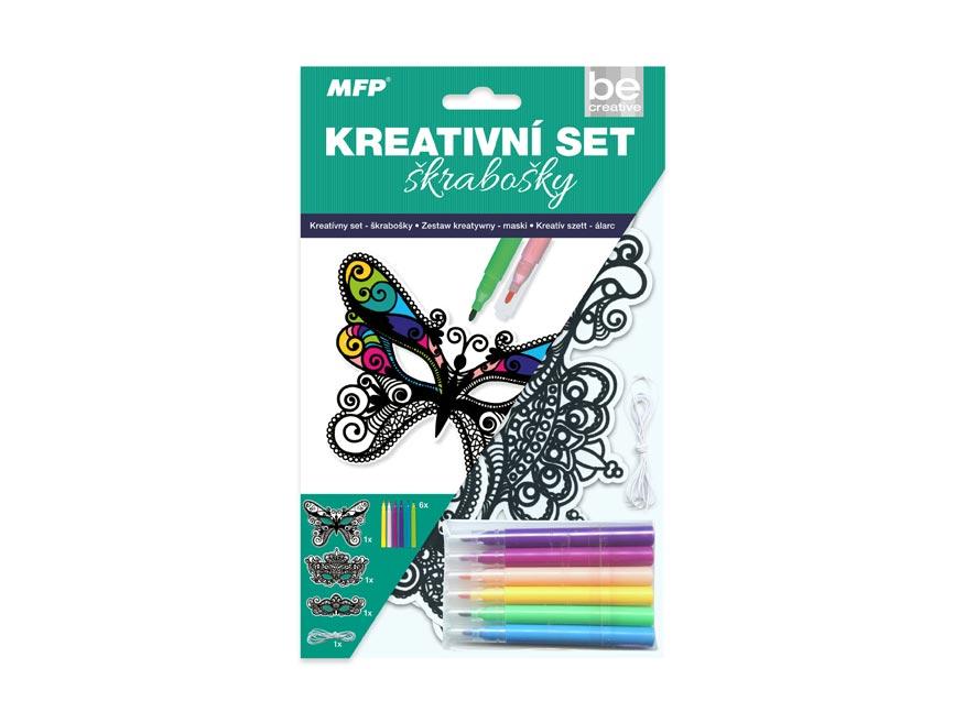 Kreativní set - škrabošky 3ks