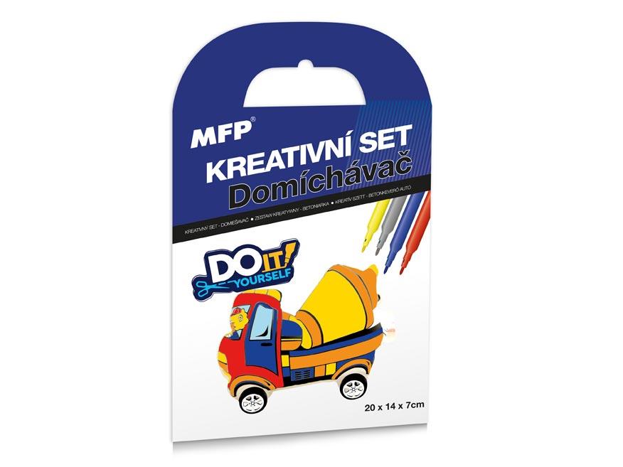 Kreativní set - Domíchávač - nafukovací auto