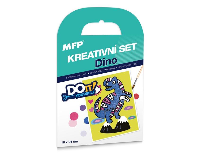 Kreativní set - Dino - písková technika