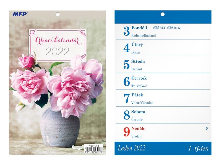 Kalendář 2022 A5 Trhací