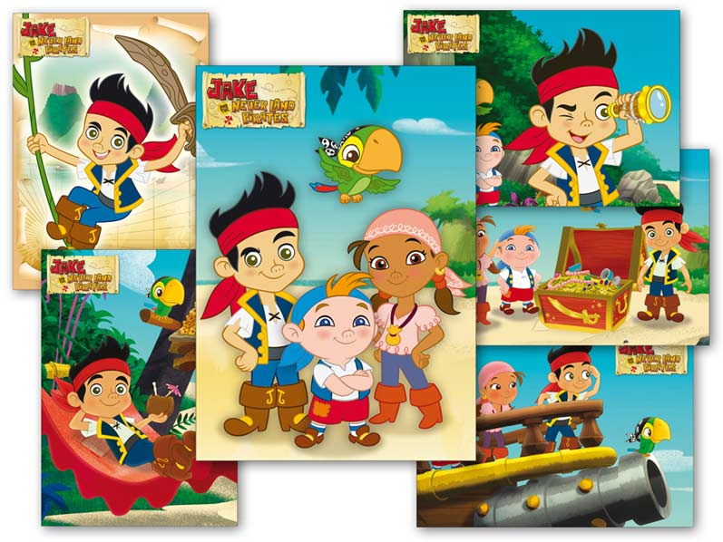 MFP pohlednice sr Y012 F Disney (Jake) UV