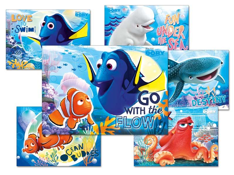 MFP pohlednice sr Y019 F Disney (Hledá se Dory) UV