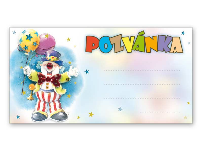 Pozvánka P001 (10ks) (190x100mm)