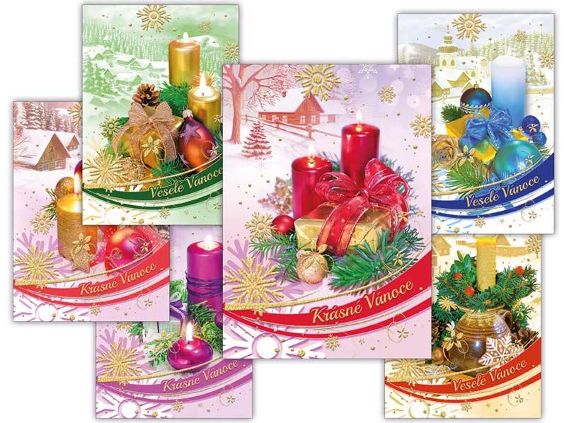 MFP 1240705 Pohlednice vánoční 126 A