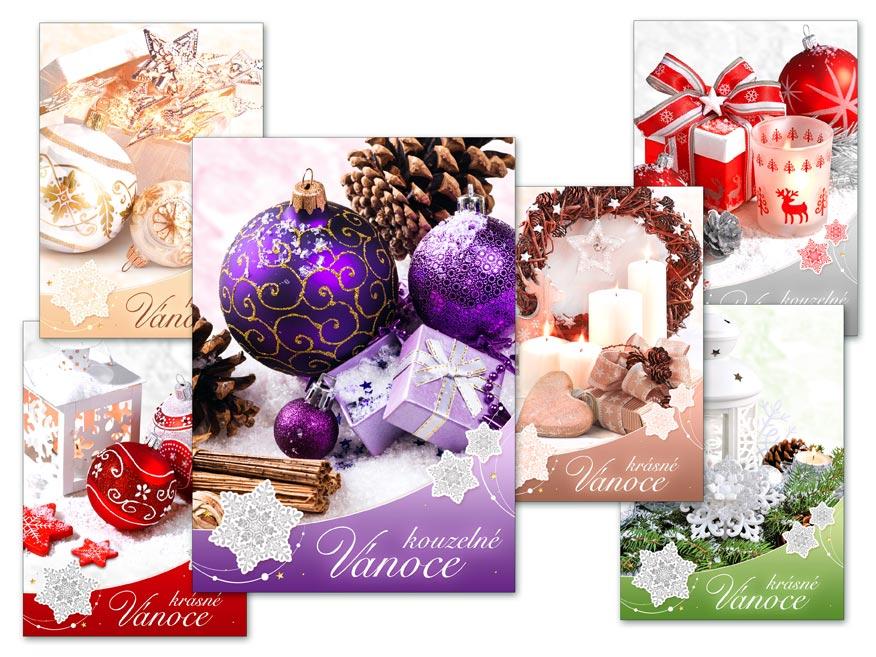 MFP 1240737 Pohlednice vánoční 133 B UV