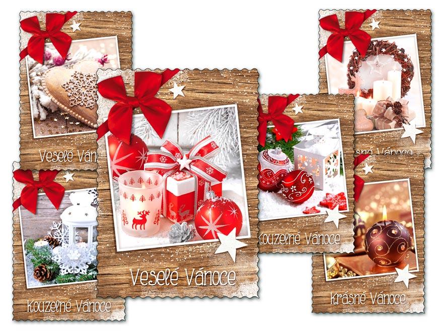 MFP 1240739 Pohlednice vánoční 135 C výsek