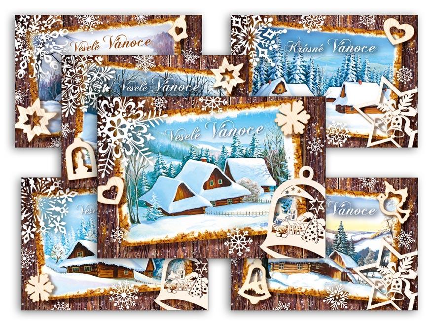MFP 1240790 Pohlednice vánoční 148 A
