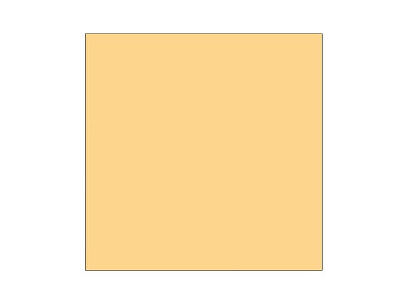 Ubrousek jednobarevný ORANŽOVÁ 011C 33x33