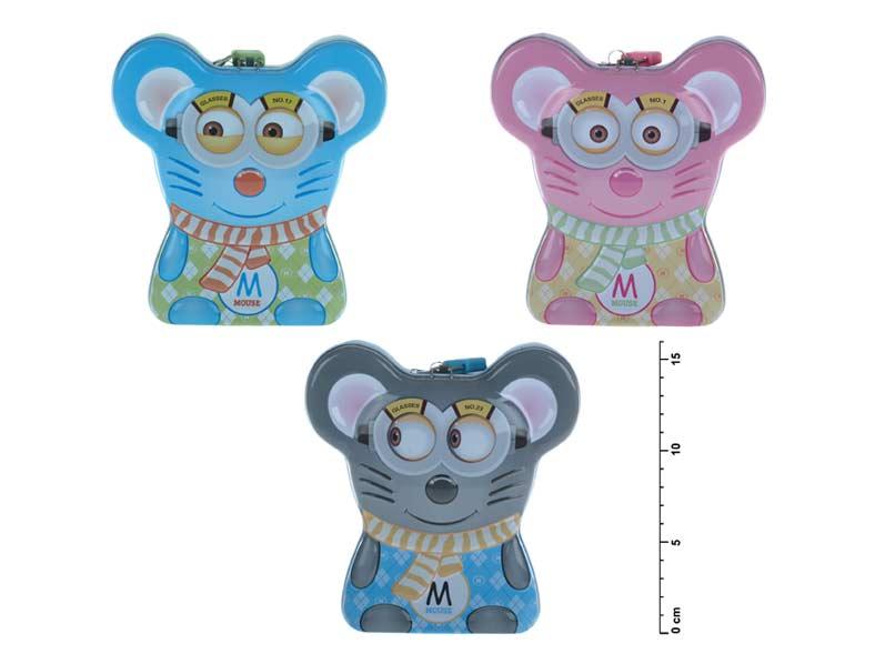 Wiky pokladnička plechová 887012 myš