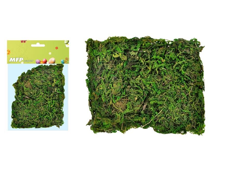 Mech 30g zelený