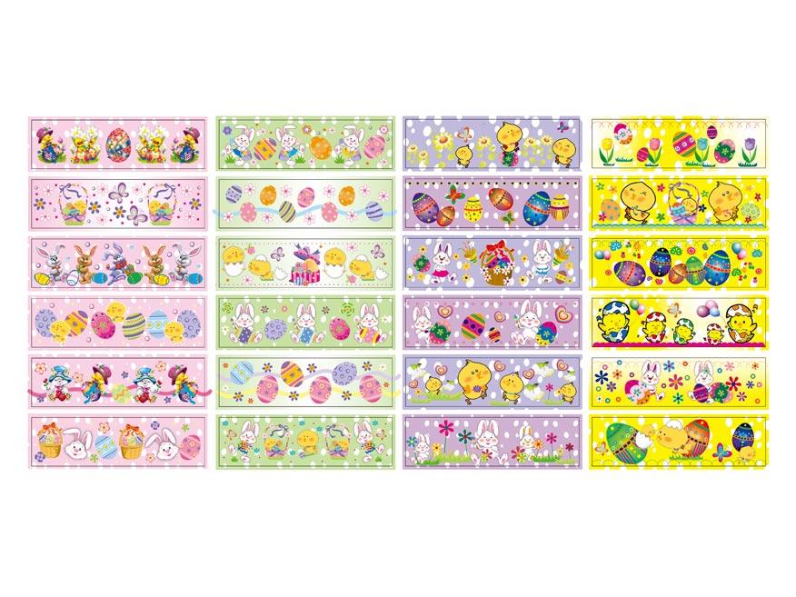 Velikonoční obtisk na vajíčka 1001 košilky mix motivů 12