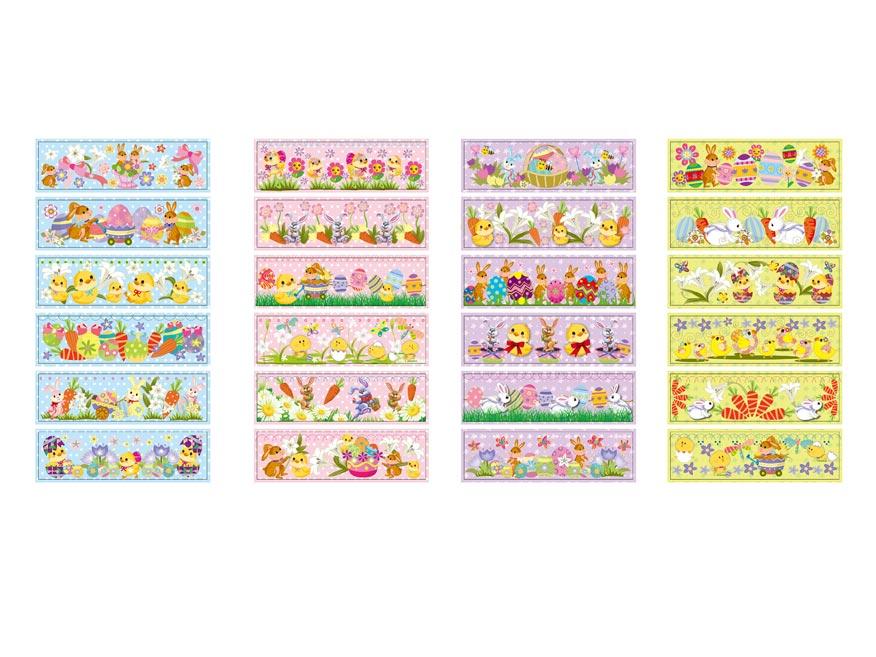 Velikonoční obtisk na vajíčka 1002 košilky mix motivů 12