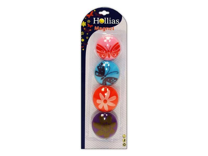 Magnety 816061 4ks květiny