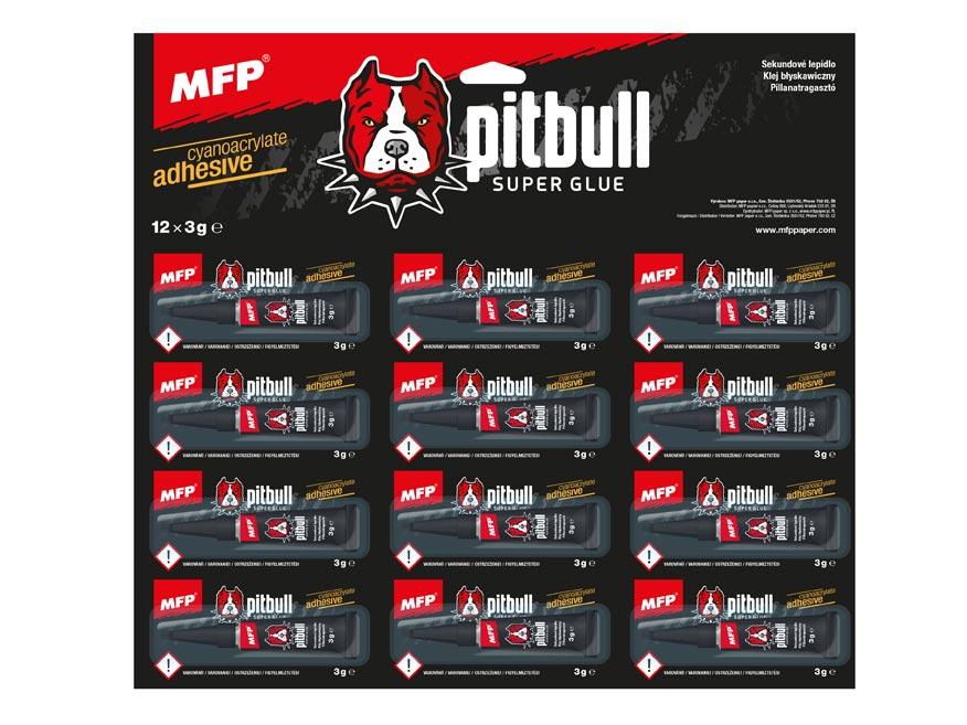 MFP 5050122 lepidlo sekundové Pitbull 3g
