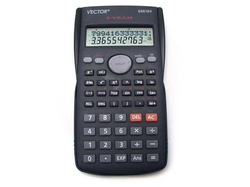 Kalkulačka 886184 vědecká 9x16cm