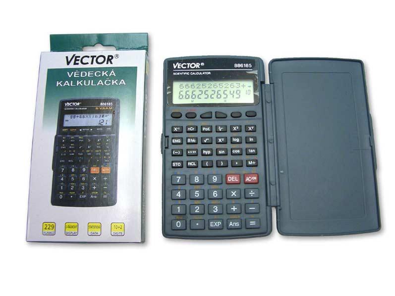 Kalkulačka 886185 vědecká 8x14cm