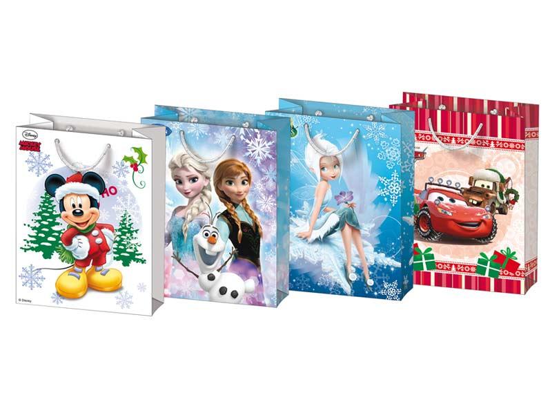 MFP taška vánoční L Disney mix V1 (260x340x140)