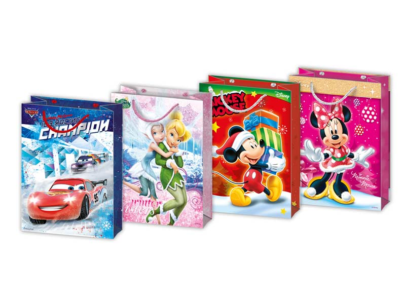 MFP taška vánoční L Disney mix V2 (260x340x140)