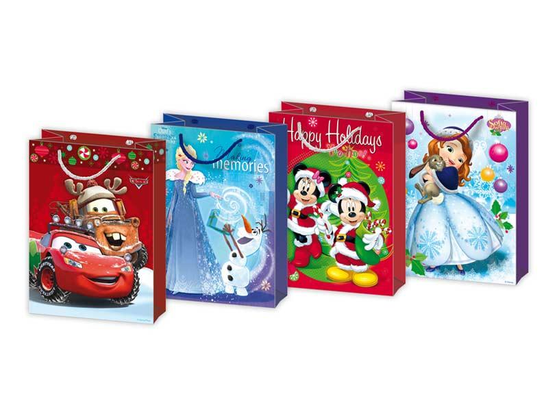 MFP taška vánoční L Disney mix V3 (260x340x140)