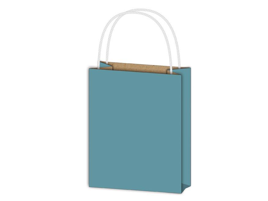 Taška MFP dárková T 1 kraft 114x146x64 modrá