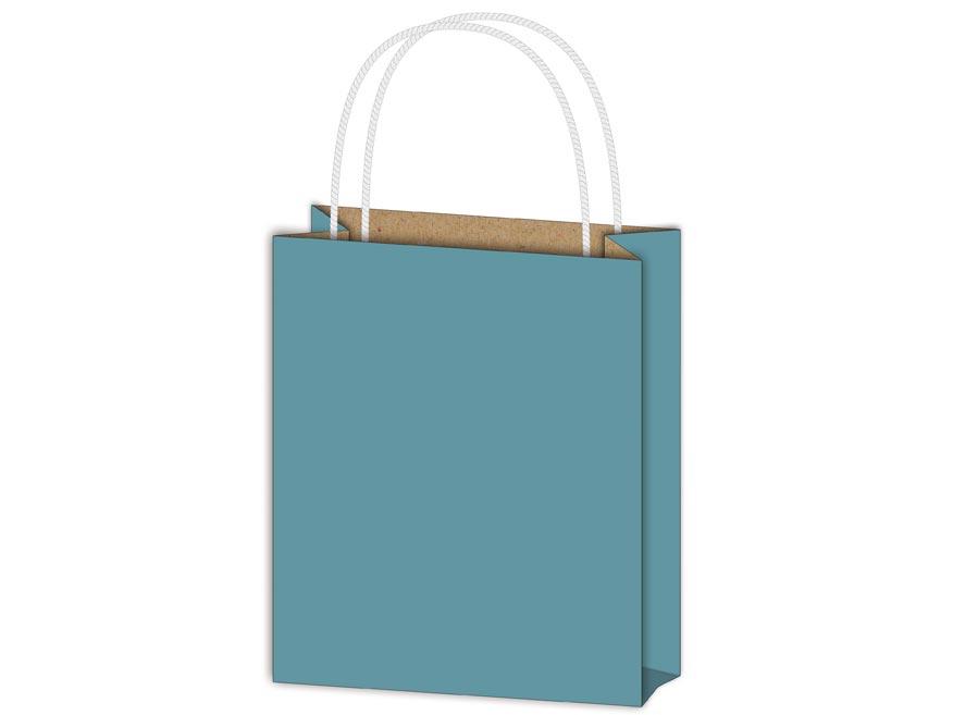 Taška MFP dárková T 4 kraft 180x230x100 modrá