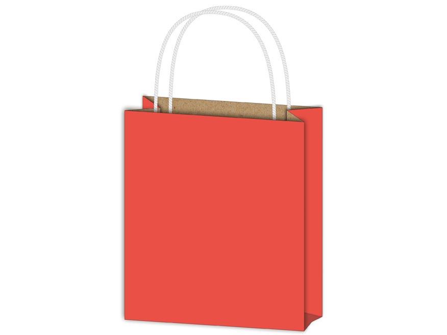 Taška MFP dárková T 5 kraft 260x320x100 červená