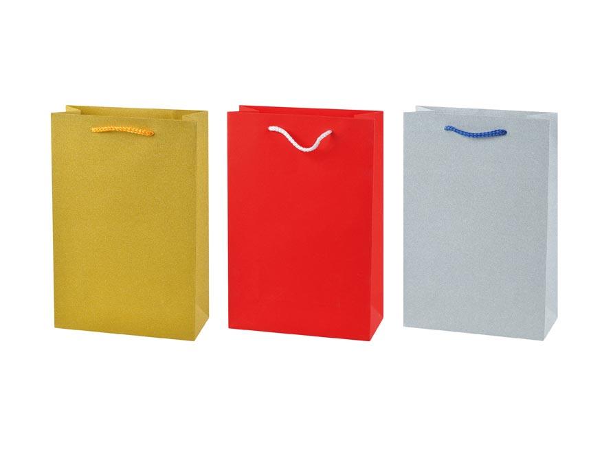 MFP 5251099 taška dárková L Glitr mix 3 (225x335x100)