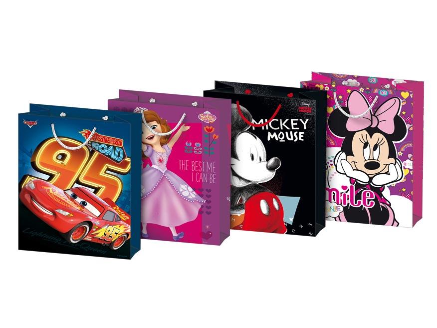Taška MFP dárková M Disney mix č. 6 (190x250x90)