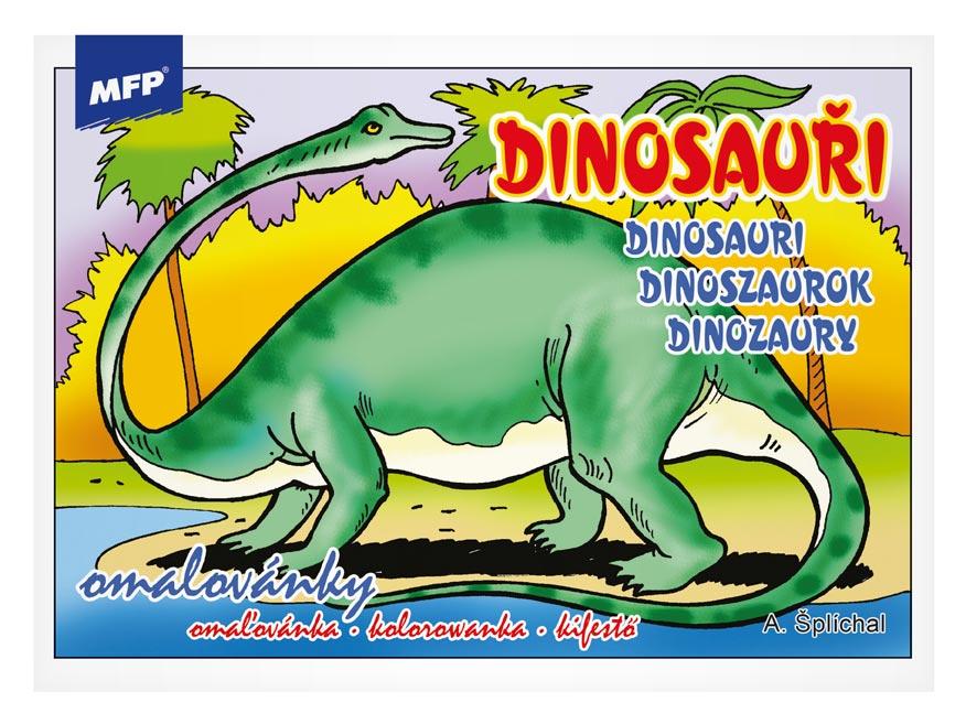 Image of Omalovánky MFP Dinosauři