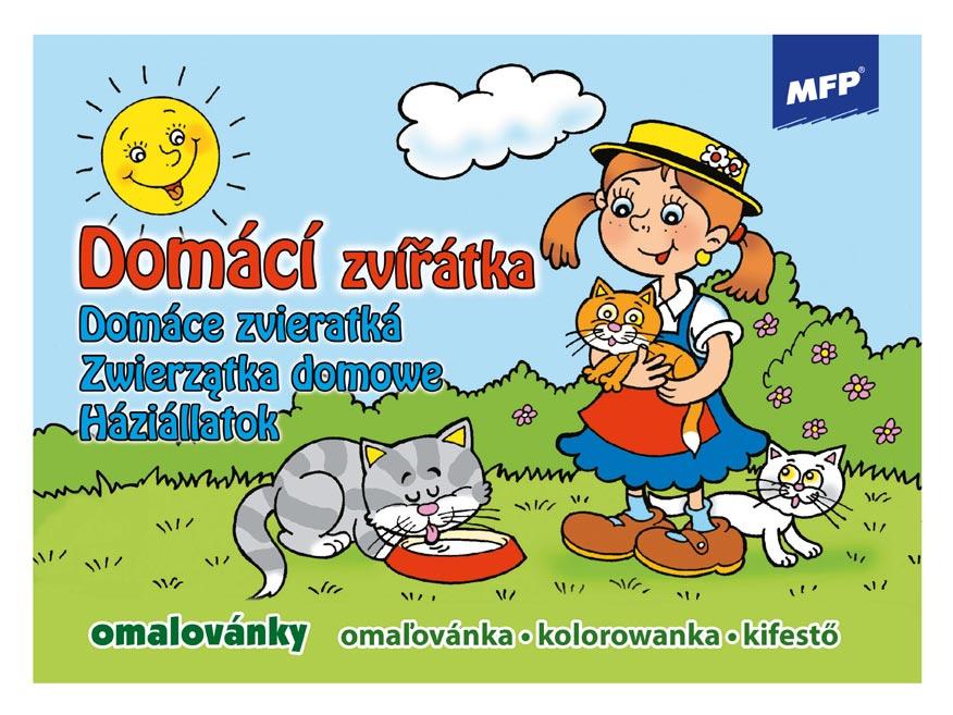 Image of Omalovánky MFP Domácí zvířátka