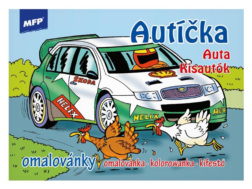 Image of Omalovánky MFP Autíčka
