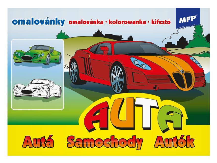 Image of Omalovánky MFP Auta