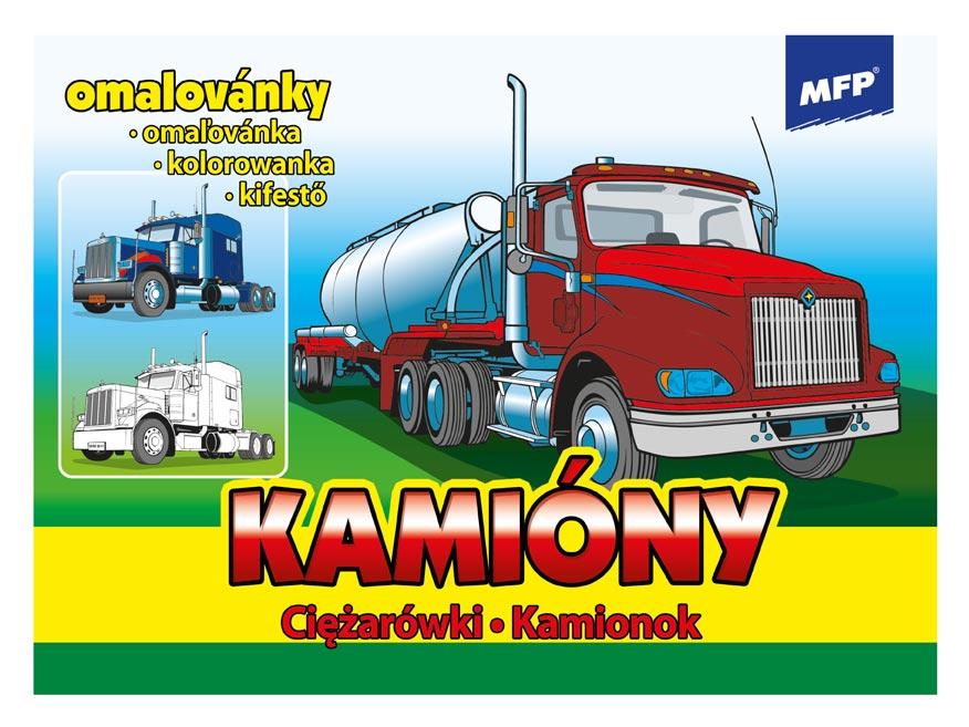MFP 5300267 omalovánky Kamióny