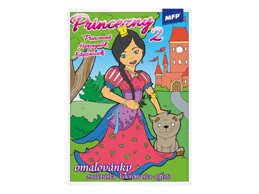 MFP 5300429 omalovánky Princezny 2