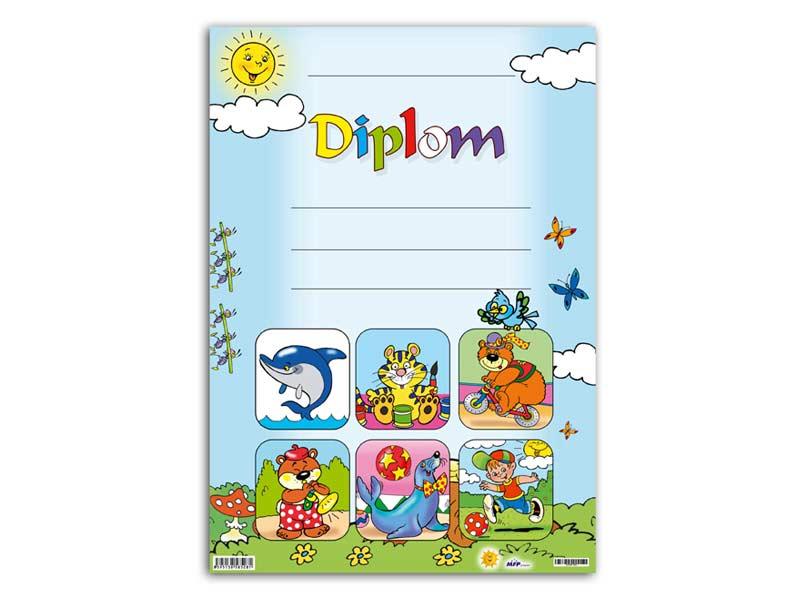 Dětský diplom A4 MFP DIP04-001
