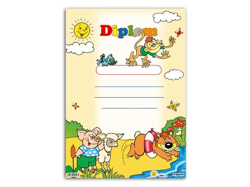 Dětský diplom A4 MFP DIP04-002