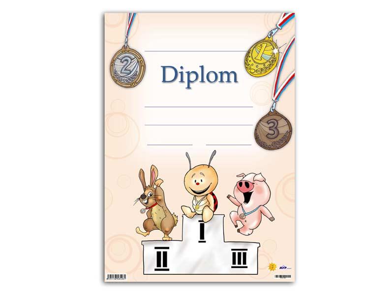 Dětský diplom A4 MFP DIP04-004
