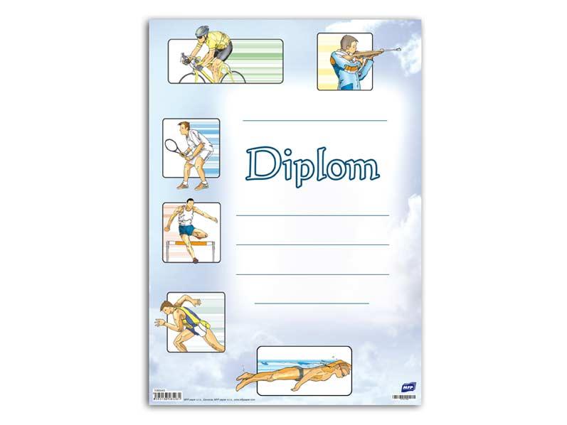 Dětský diplom A4 MFP DIP04-006