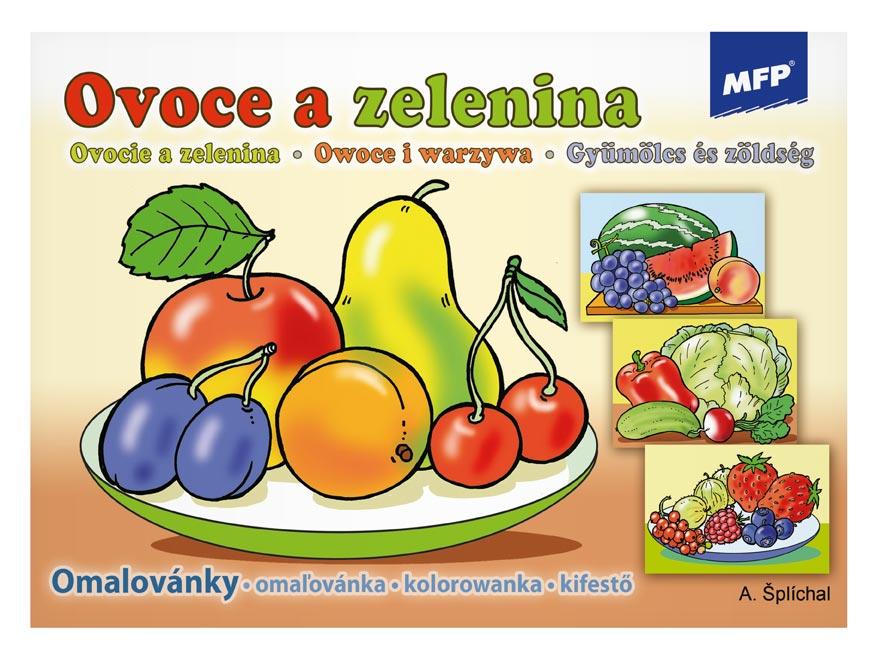 MFP omalovánky Ovoce a zelenina
