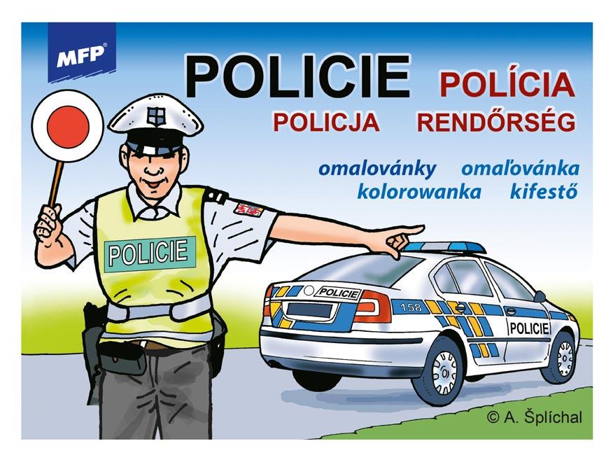 Omalovánky MFP Policie