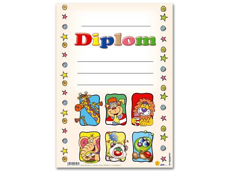 Dětský diplom A4 MFP DIP04-008