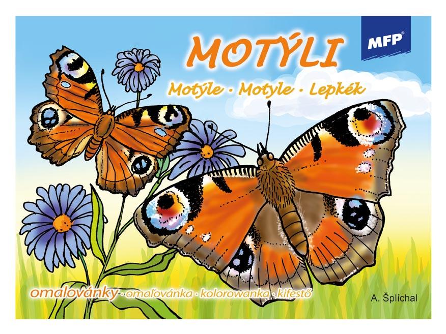 Omalovánky MFP Motýli