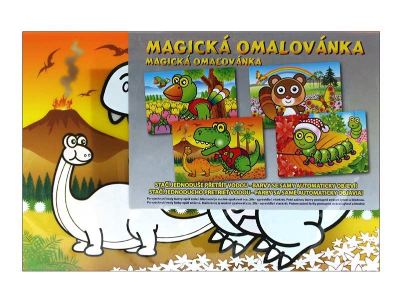 Image of Omalovánky vodové 886569 magické